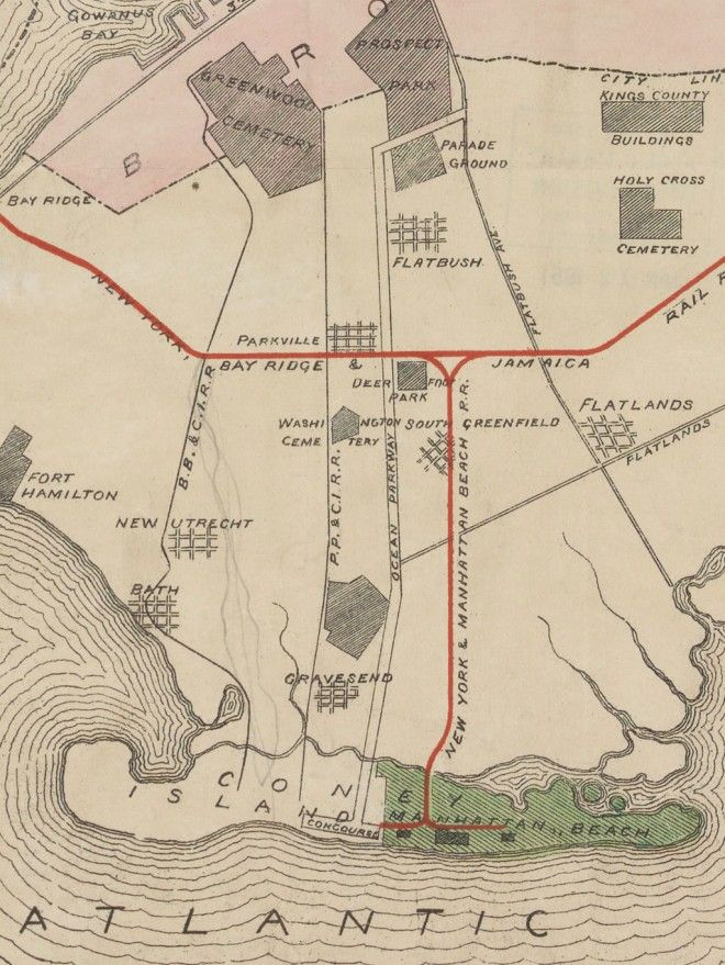 Subway Map Bay Ridge Area.Fascinating Old Maps Of Both Real And Ridiculous Nyc Transit