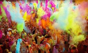 Groupon - $ 25 for the Graffiti Run Charity 5K on Sunday, September 29 (Up to $ 55 Value) in Fort Worth (LaGrave Field). Groupon deal price: $25.00