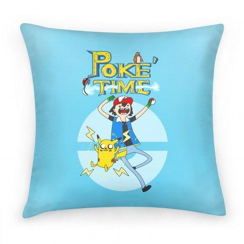 It's Poke'Time! #pillow #pokemon #poketime #nerdy #geek #gaming #videogame
