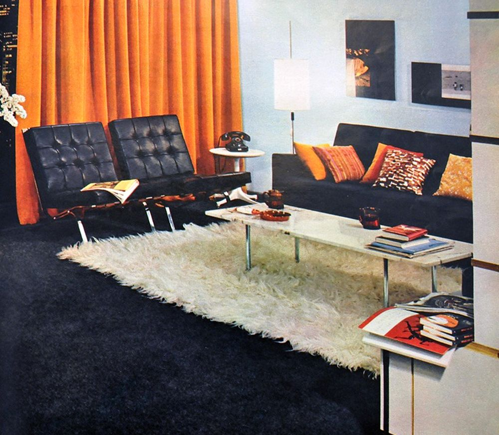 65 Cool Mid Century Living Room Decor Ideas: 20 Years Of Living Rooms: 1961 To 1981
