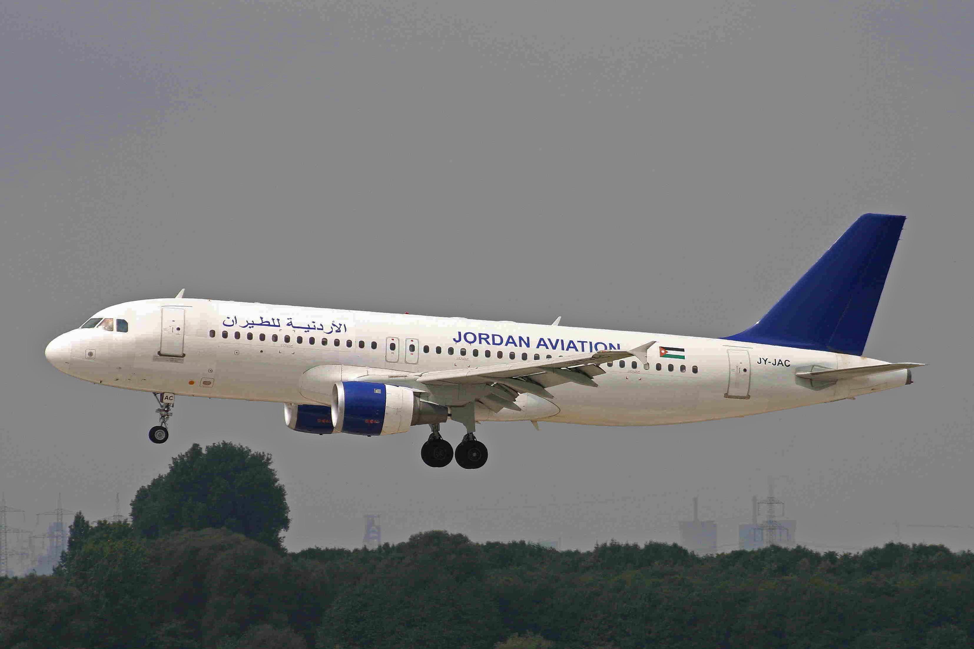 الأردنية للطيران Passenger Jet Passenger Airlines