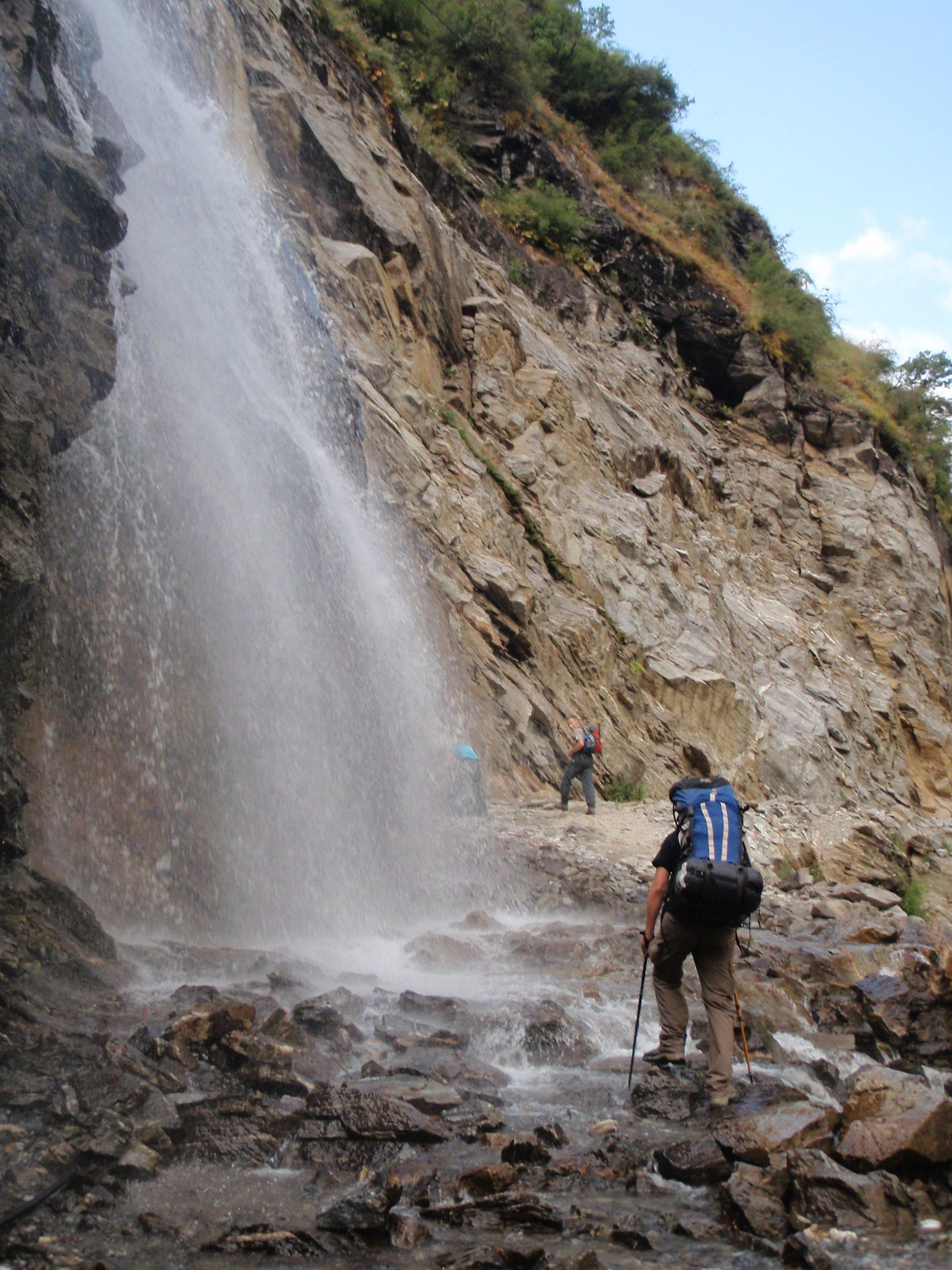Enchanting Waterfall In Annapurna (With Images