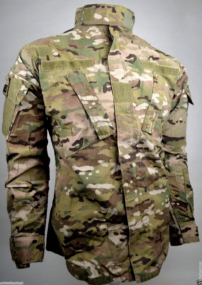 Usgi Army Multicam Ocp Flame Resistant Fr Uniform Top Shirt Different Sizes Military Outfit Top Shirt Multicam