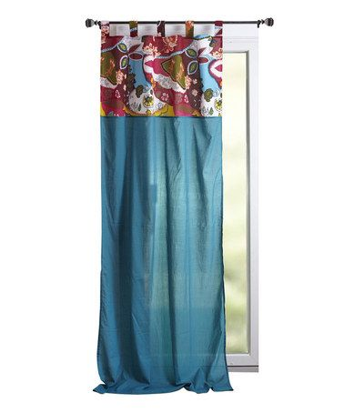 Take A Look At This Petrol Blue Curtain Panel By Karma Living On #zulily  Today