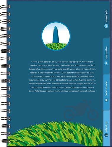 tab planner medium 7 x 10 from journalbooks timeplanner