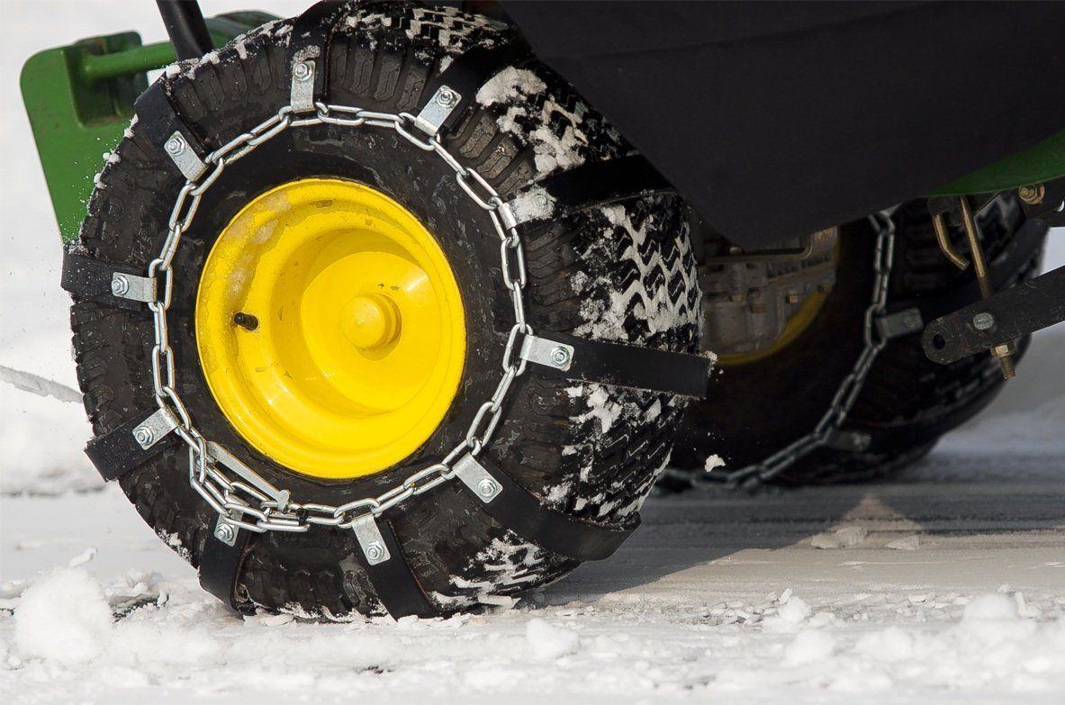 Rubber Chains For Tires Zero Turn Mowers Zero Turn