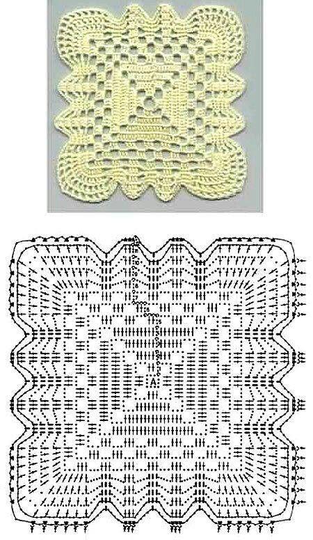 mattonella uncinetto | Crochet e Tricot | Pinterest | Ganchillo ...