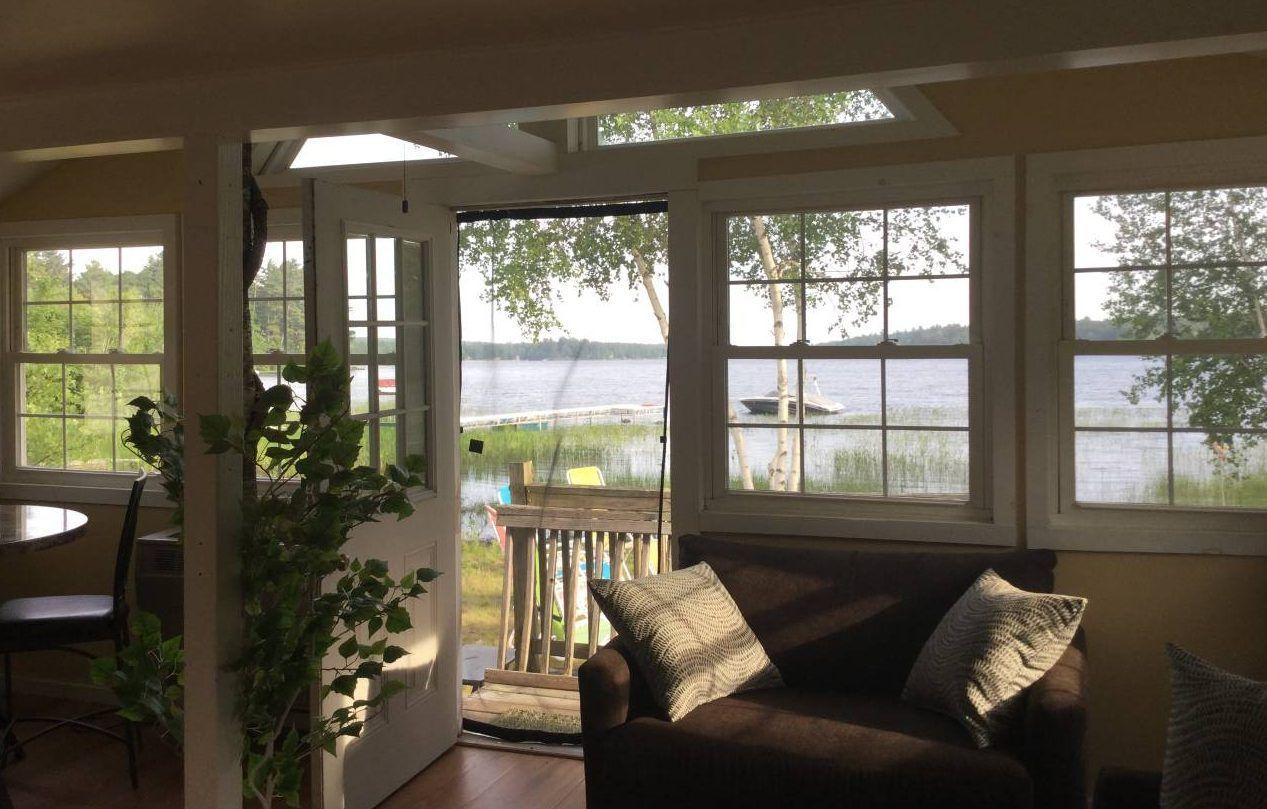 portland maine lake house rentals