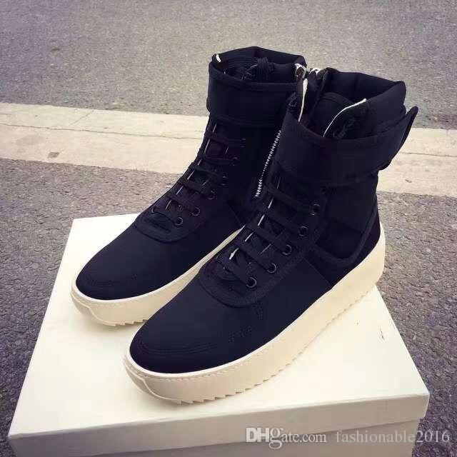 Discounts New Trend FEAR OF GOD Mens Womens Ankle Boots ...