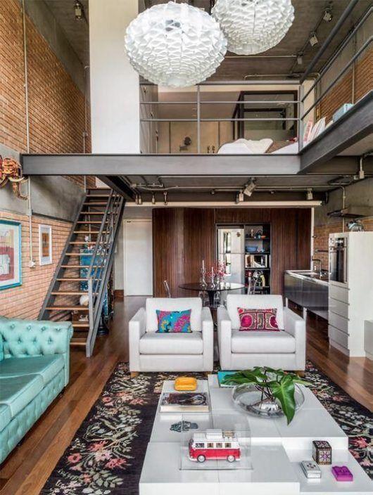 Ladrillo De Interior, Nueva Tendencia – Loft Chile | Diseño casas pequeñas,  Casas, Casas loft