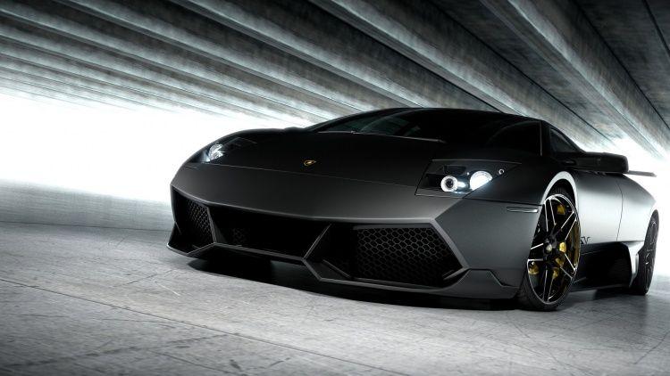Black Mate Lamborghini Aventador