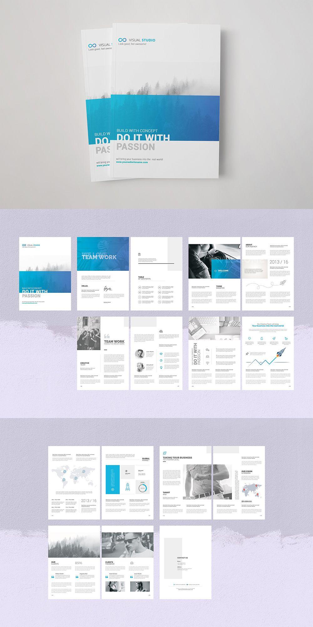 Business Brochure Brochure Template Corporate Brochure Design