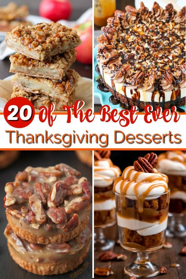 Thanksgiving Desserts That'll Make You Want To Skip Turkey #thanksgivingdesserts