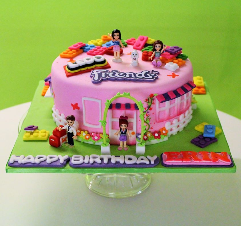 Https Www Google Pl Search Q Lego Friends Cake Lego Urodziny Tort