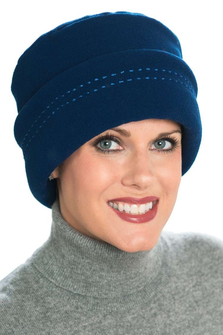 db9278fd220 Fleece Tammy Hat - Warm hat for cancer patients