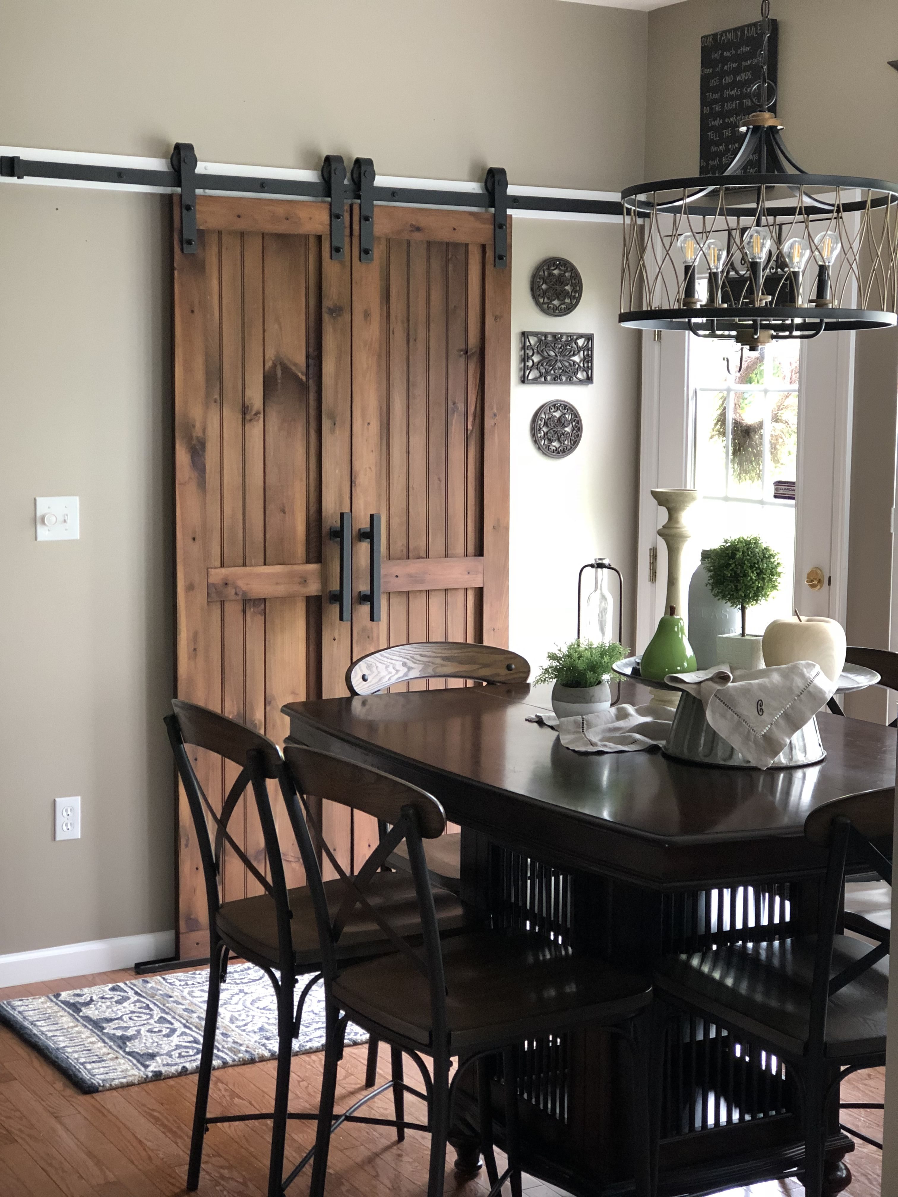 Split Barn Doors For My Laundry Room Home Remodeling New Homes Wood Doors