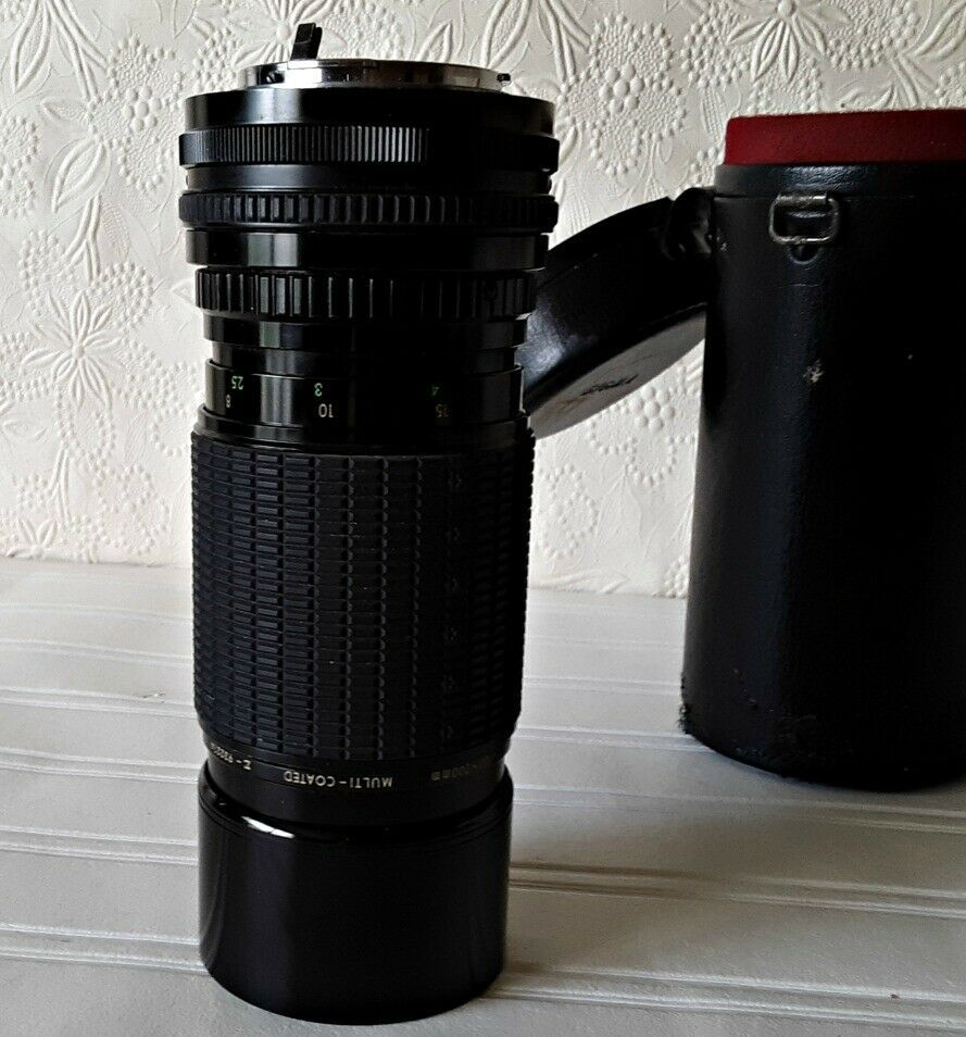 Sigma Camera Zoom Lens For Konica 100 200mm Made In Japan Sigma Camera Zoom Lens Sigma Camera Vintage Camera Lens