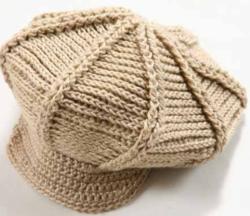 casquette femme au crochet