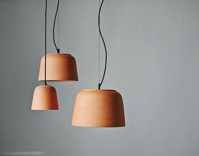 lighting and ceramics. POTTER LIGHTS - Cafe Culture + Insitu Lighting And Ceramics