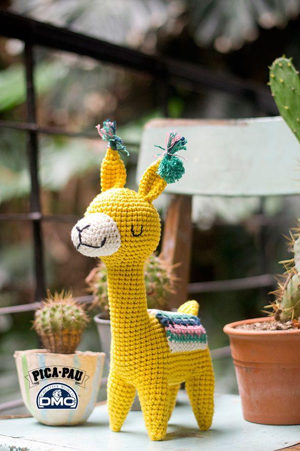 Alpaca Amigurumi - Patrón Gratis en Español | Nelli | Pinterest ...