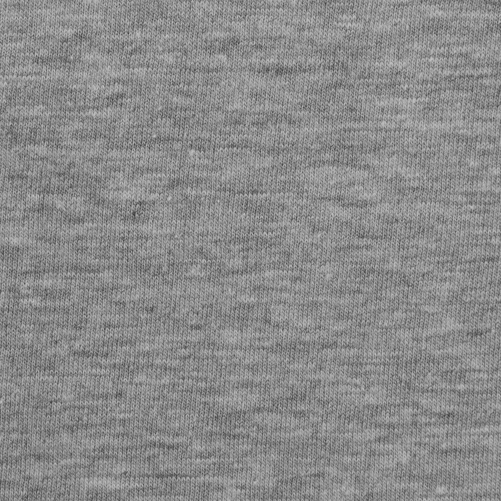 Solid emerald turquoise fabric by the yard teal fabric carousel - Heathered Gray Cotton Jersey Knit Fabric By The Yard