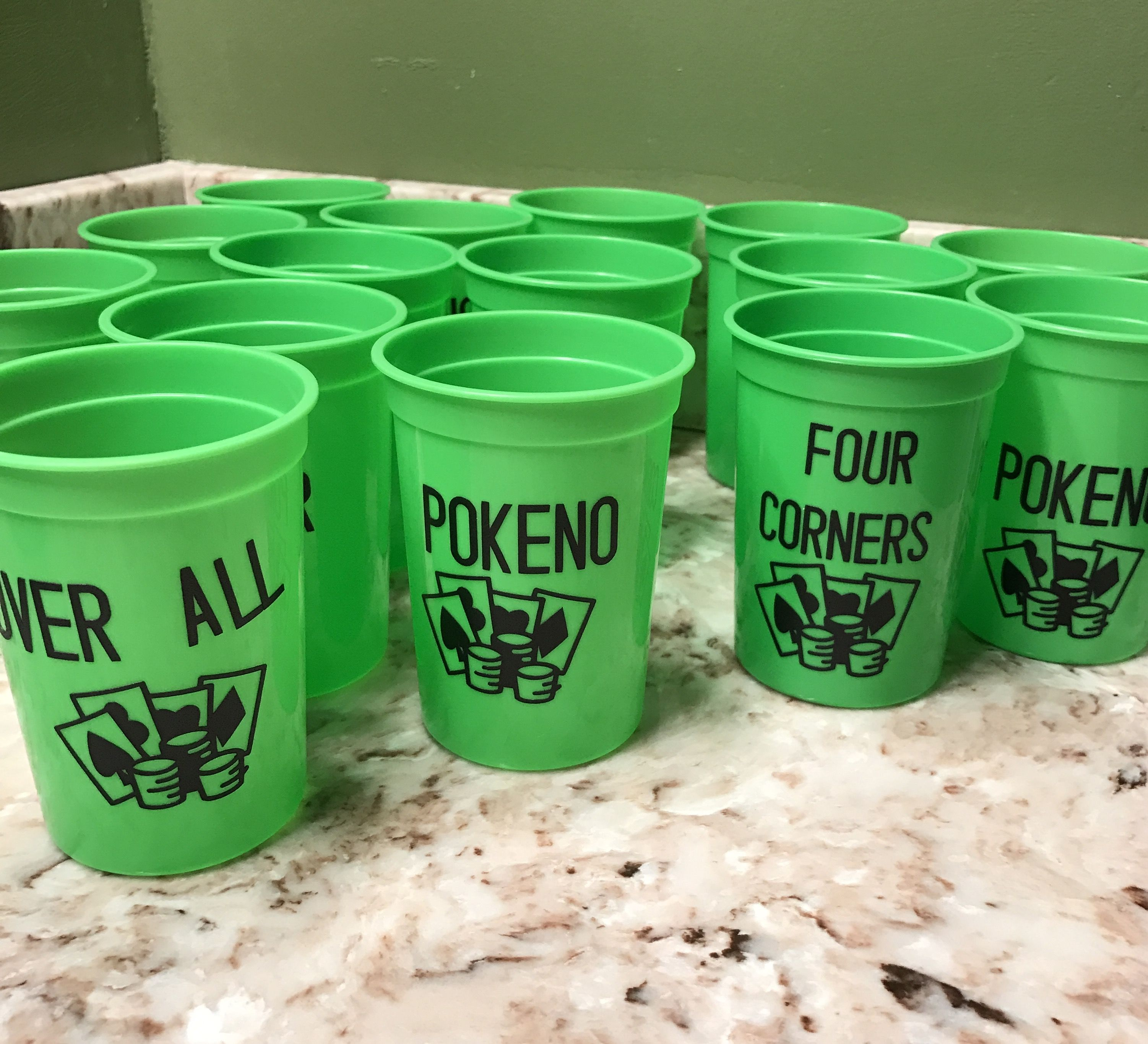 Pokeno Game Night Cups, You Have To Know The Game
