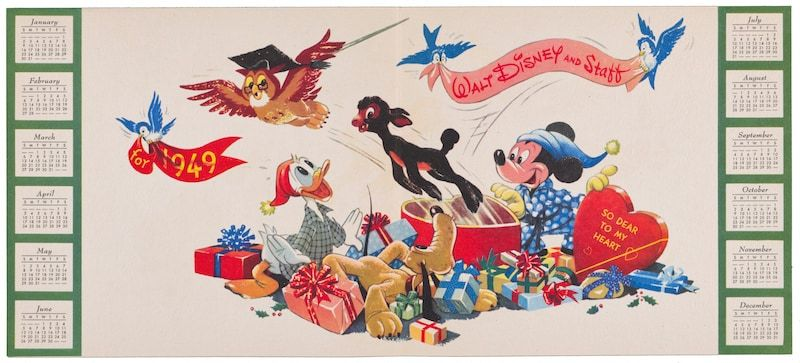 Our Current Obsession This Season Holiday Artwork In The Disney Christmas Card Book Disney Christmas Cards Disney Concept Art Disneyland Christmas