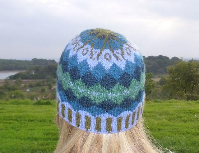 Ravelry: Gartmorn Fair Isle Hat pattern by Clare Hutchinson   Hats ...