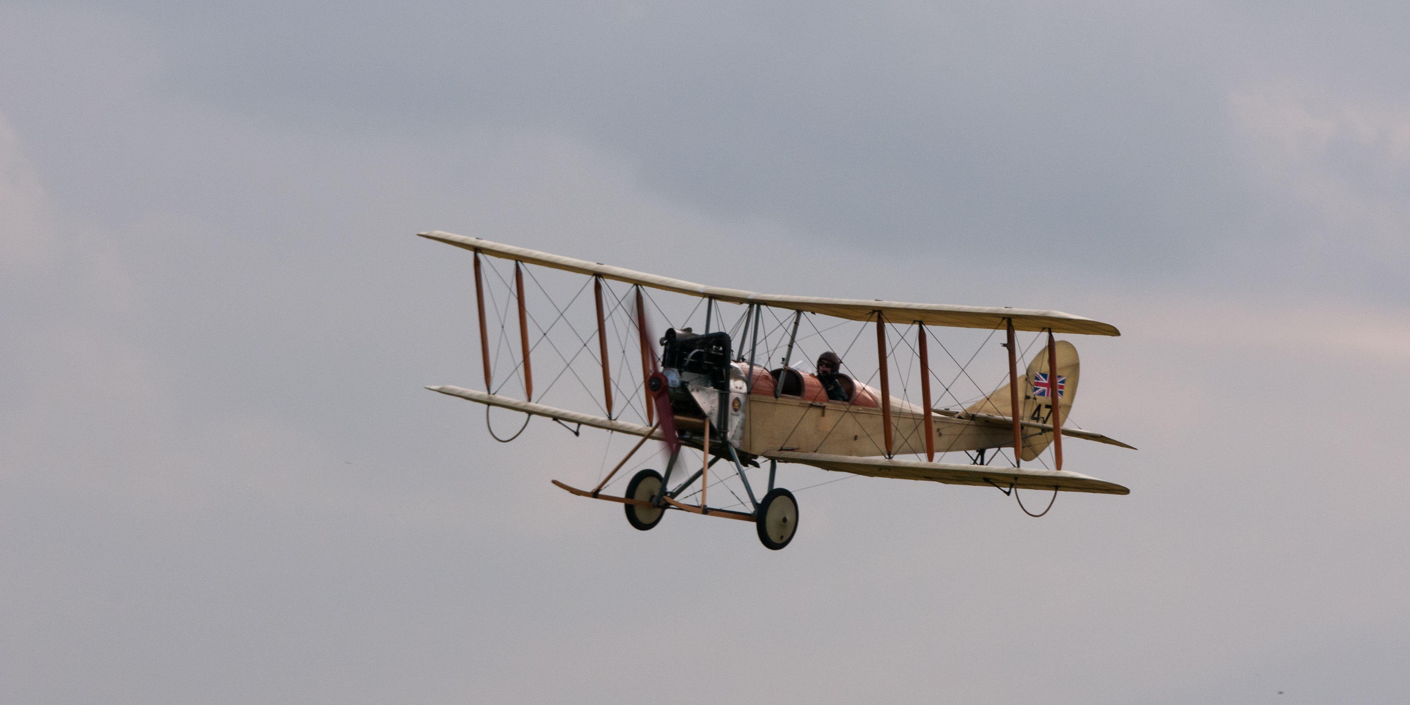 Royal aircraft factory replica bec aircraft jj