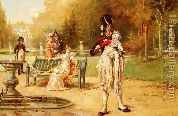 The King Of Rome And His Nurse by Laslett John Pott | Pinterest ...