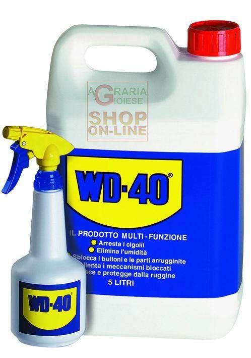 LUBRIFICANTI WD-40 TANICA CON DOSATORE LT. 5 https://www.chiaradecaria.it/it/spray-lubrificanti/10226-lubrificanti-wd-40-tanica-con-dosatore-lt-5-5032227495067.html