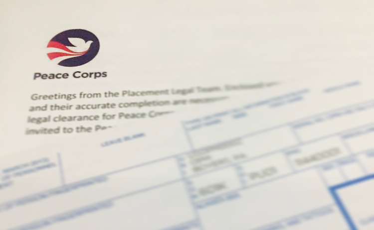 The Peace Corps application and interview process (With