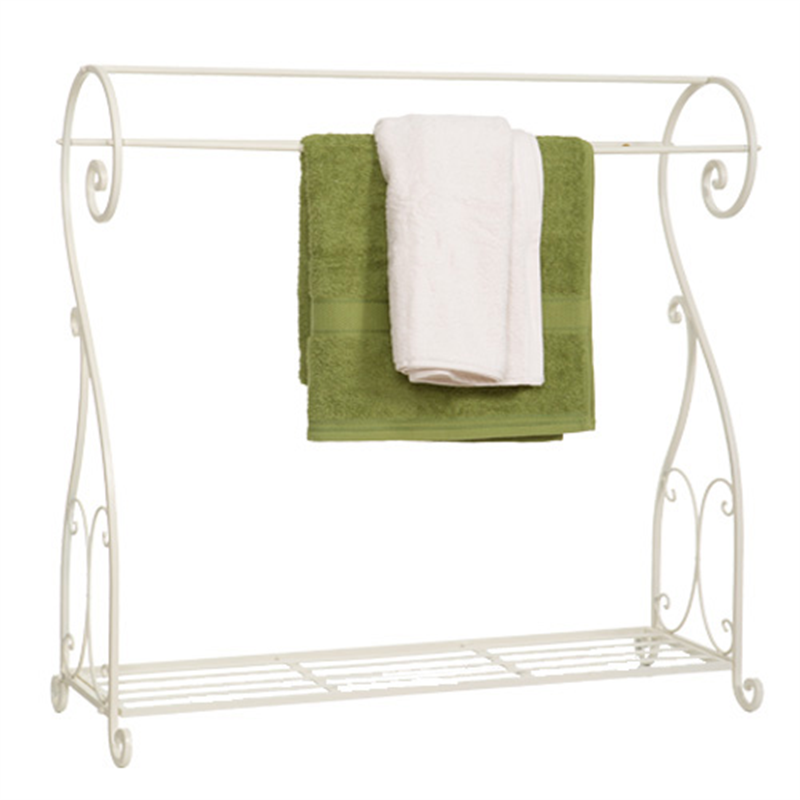 Bed Bath And Beyond Towel Rack Glamorous Metal Towel Rack  Cream  Bed Bath & Beyond  Hospitality Inspiration Design