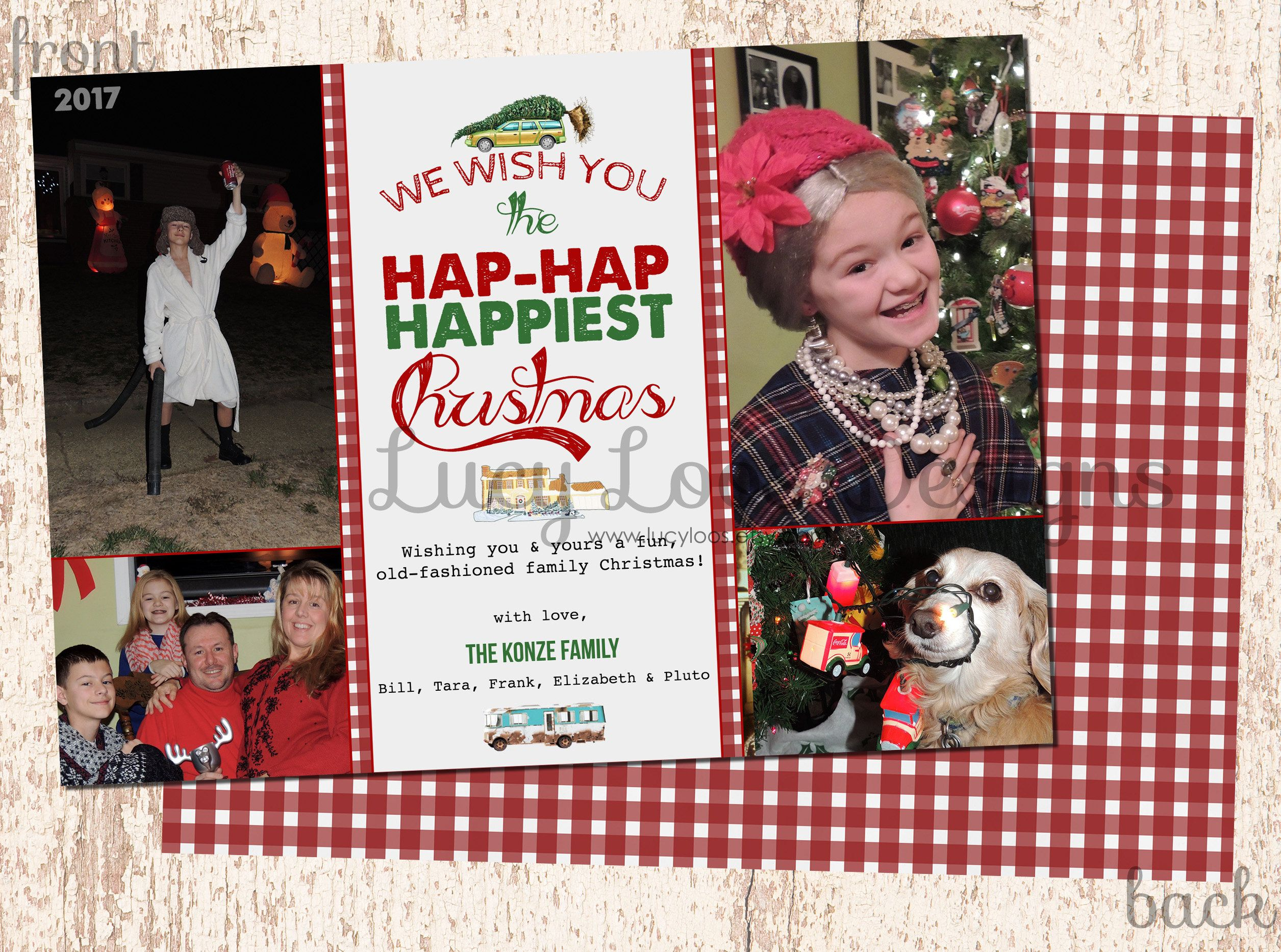 christmas hap hap happiest christmas national lampoons old fashioned family christmas by lucyloos on etsy - Hap Hap Happiest Christmas
