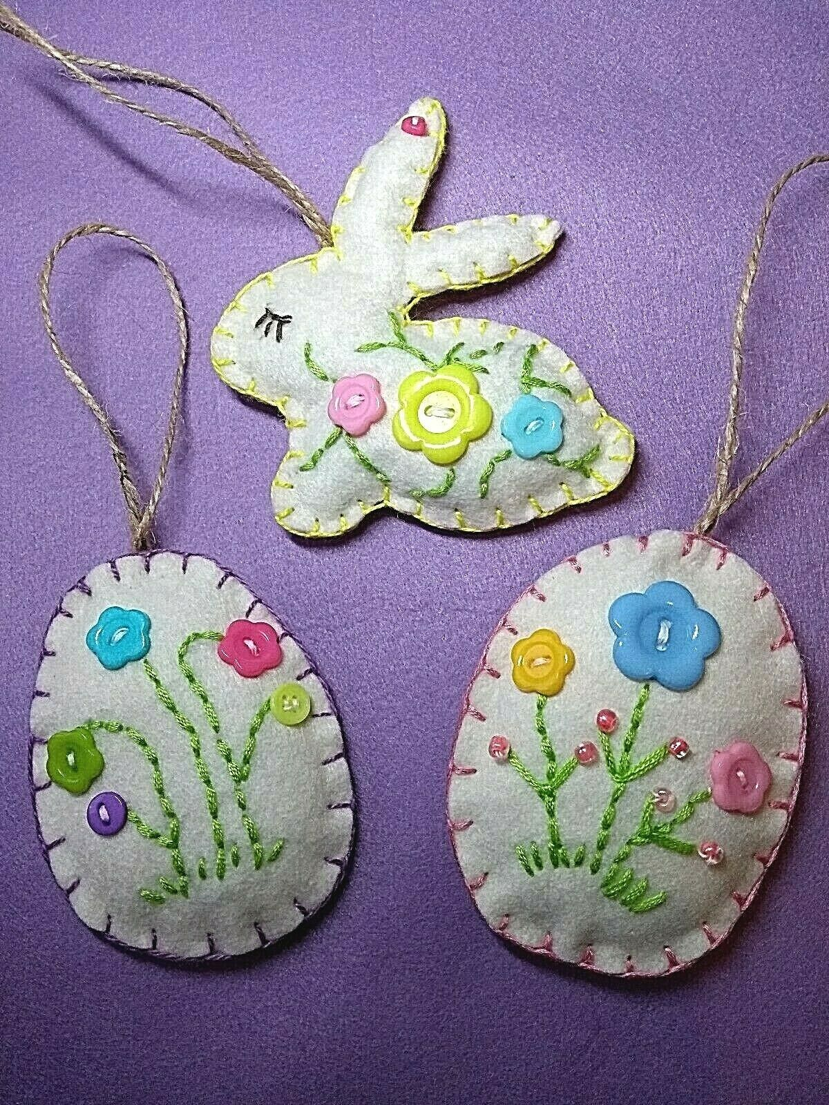 Easter Party Decorations Hanging Felt Chick Pretty Quality Easter Decorations
