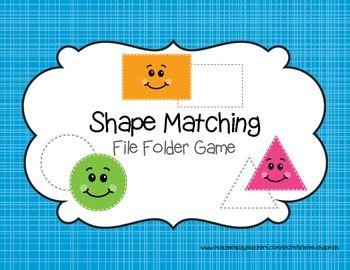 free file folder game templates - shape file folder games file folder games file folder