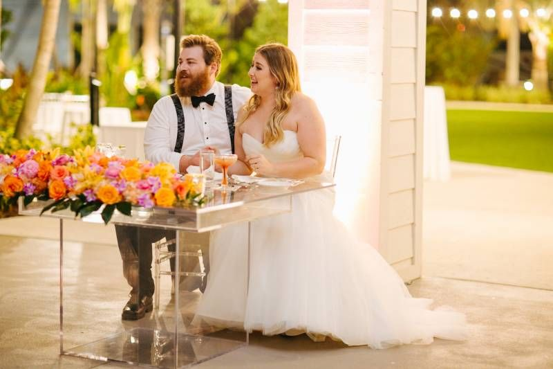 Orlando Wedding And Party Rentals Sweetheart Table Orlando Wedding Wedding Rentals