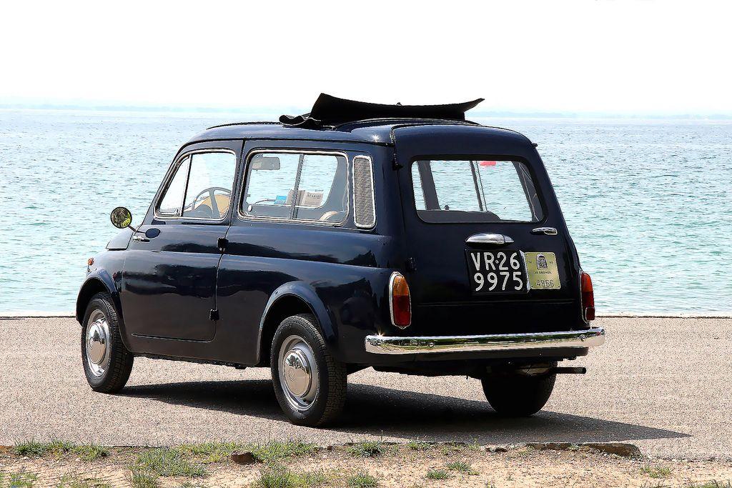 Fiat 500 Giardiniera Old Timer Cars Automobili Anni 70 Vecchie