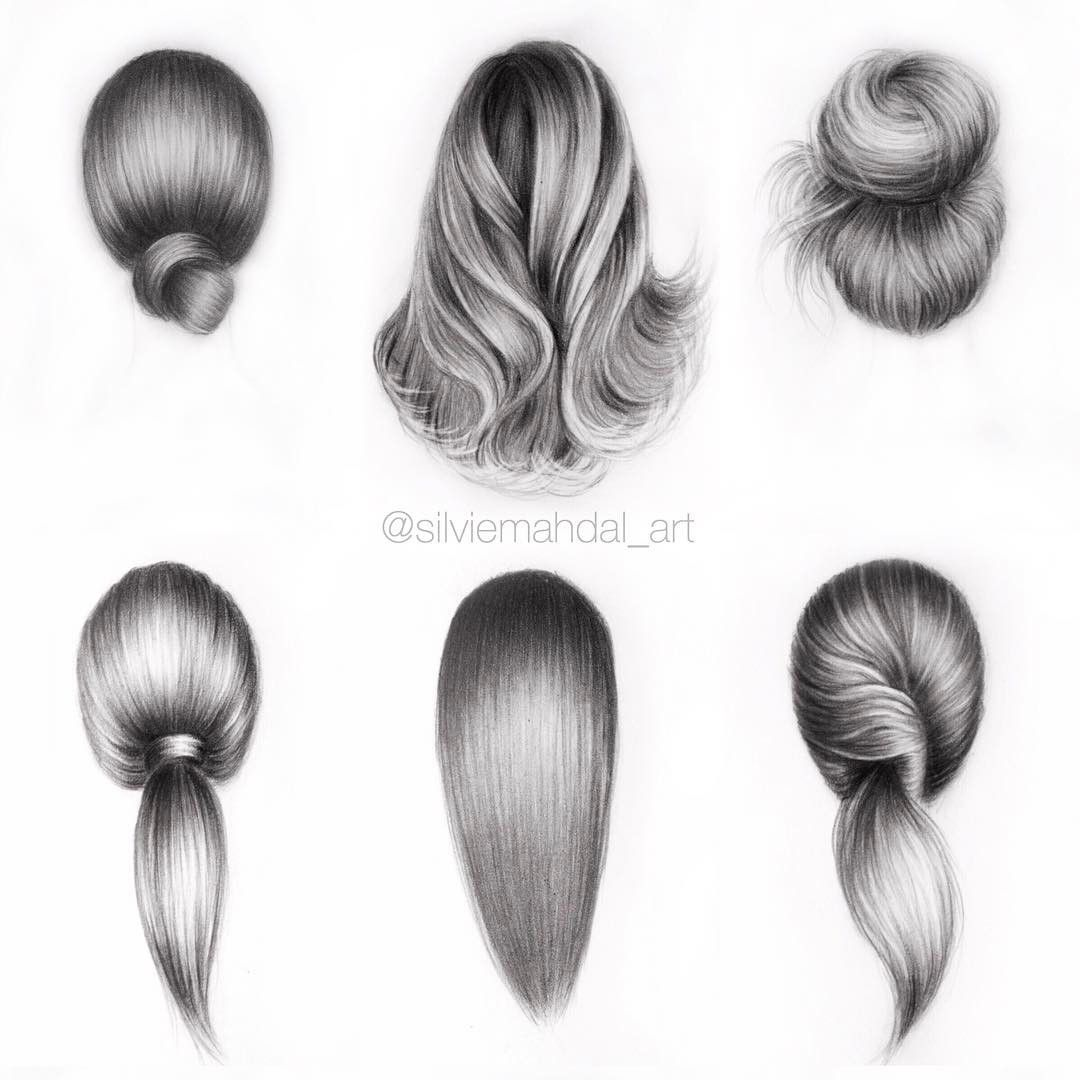 If you're struggling to draw hair, then these hair drawing tips may prove to be useful. #pencildrawingtutorials