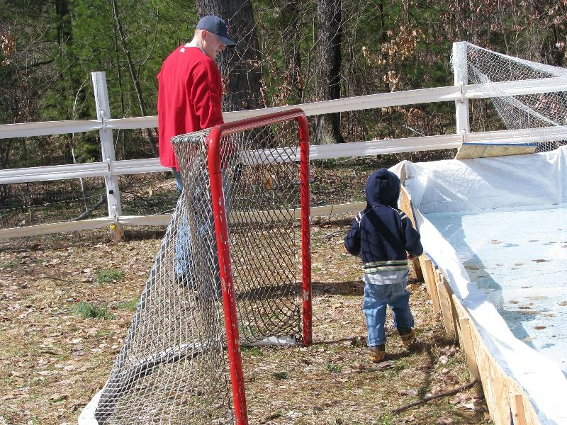 How to build a backyard ice hockey rink http://howtohockey ...
