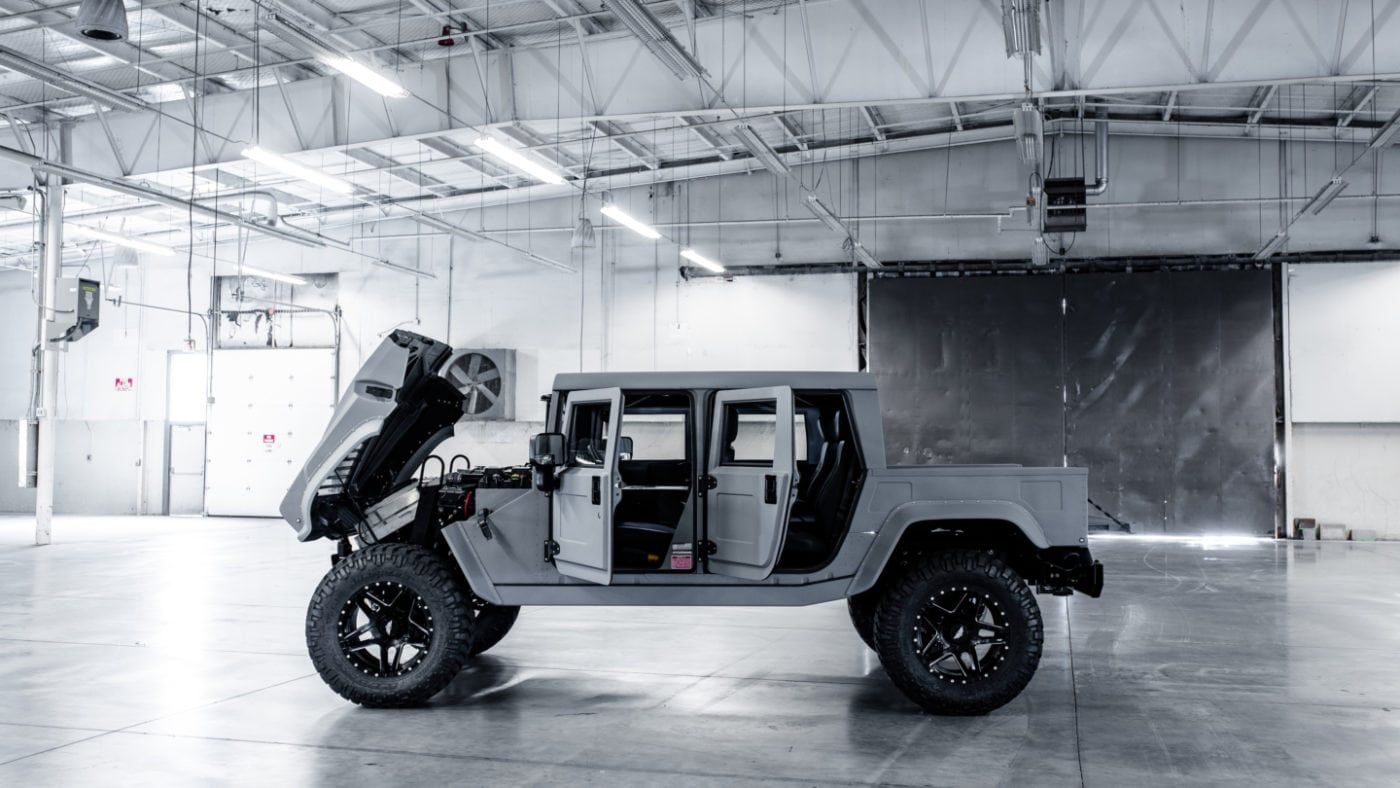 First Factory Direct Mil Spec Launch Edition For Sale Hummer H1