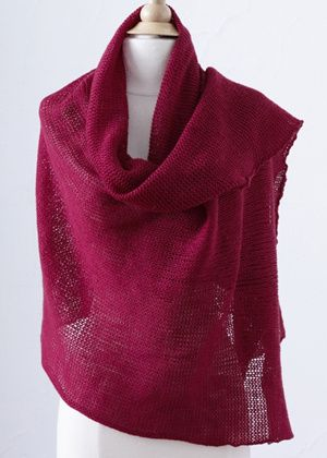 Free Machine Knitting Patterns To Download : Stockinette wrap. Knitting machine pattern by Lion Brand. Machine Knitting ...