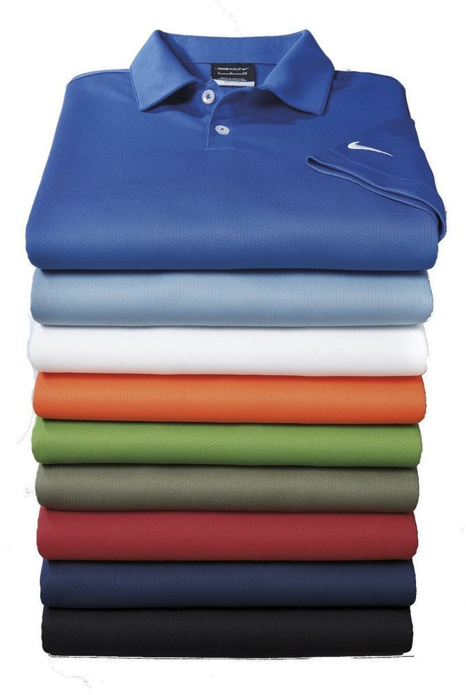 a4b2b4ee NIKE GOLF Shirt Dri Fit Mens Polo Sport Shirts NEW Size XS-4XL 3XL 2XL #Nike  #PoloShirt