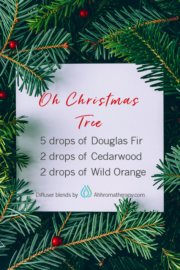 Oh Christmas Tree Diffuser Blend Essential Oils Christmas Essential Oil Candles Christmas Tree Essential Oil
