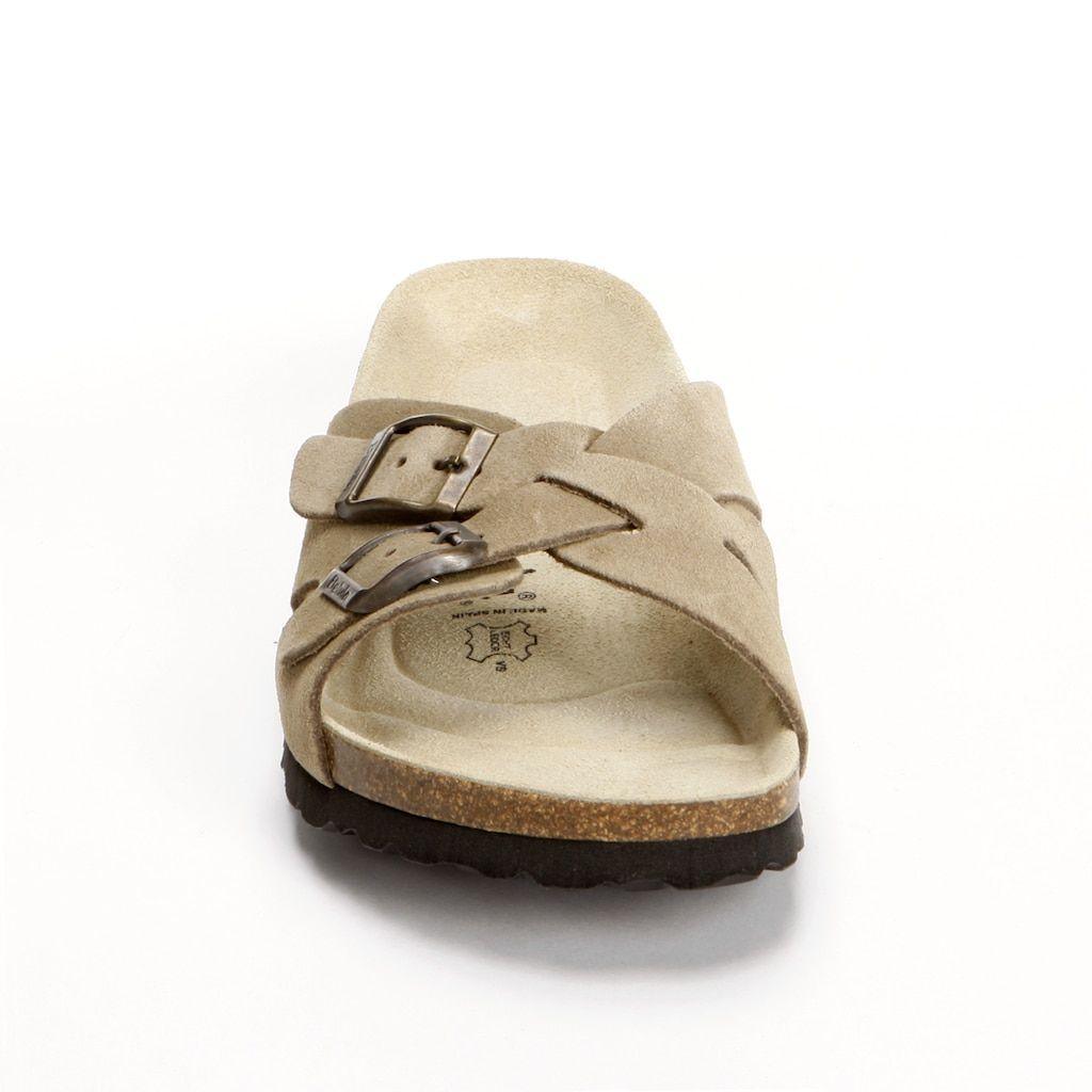Soft Footbed Slide Sandals - Women