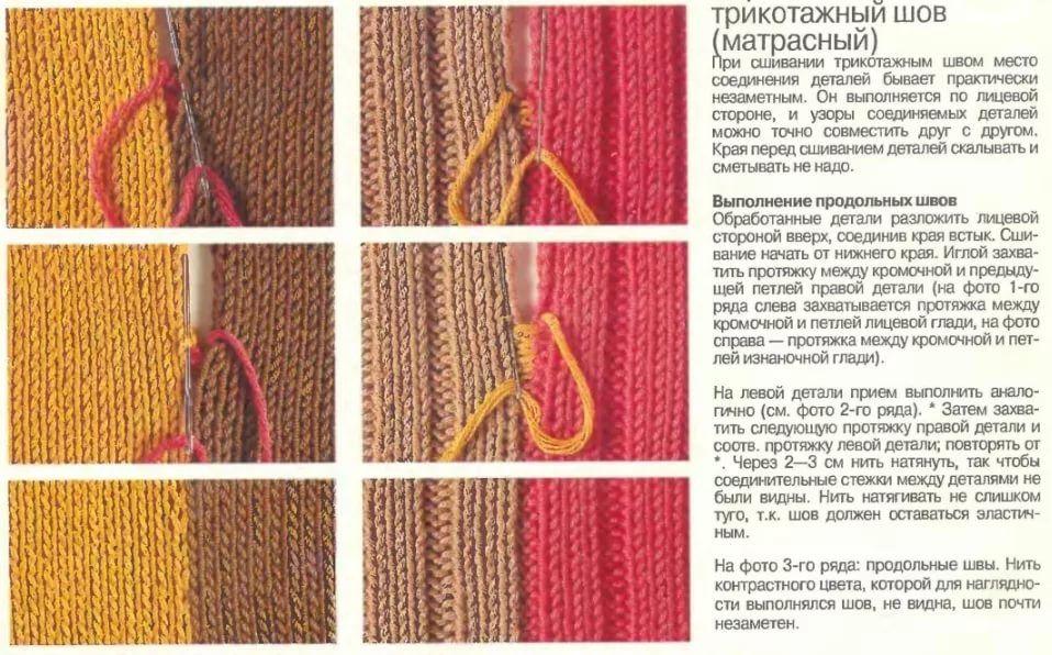 как лучше держать рабочую нить при вязании спицами 14 тыс