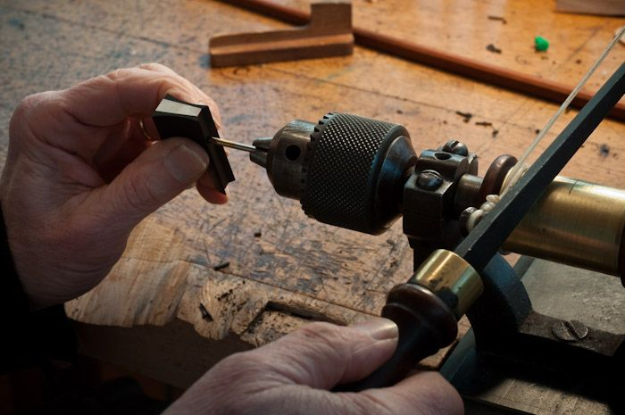 Violin bow making in the French tradition  The violin bow