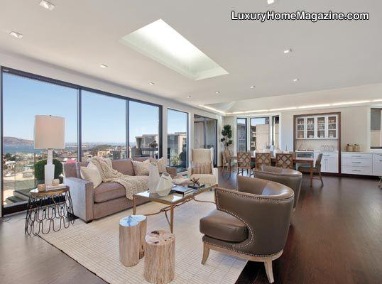 San Francisco Luxury Home House Homes Interior Design Decor White