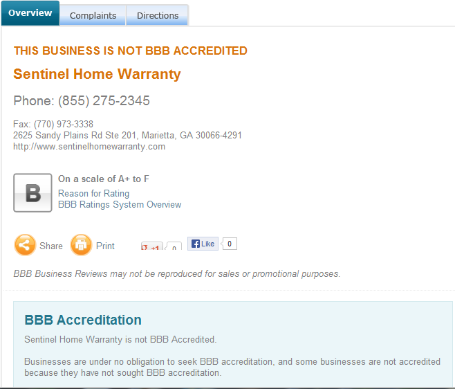Sentinel Home Warranty Complaints There Are Very Few Complaints About Sentinel Home Warranty Home Warranty Home Warranty Companies Business Reviews