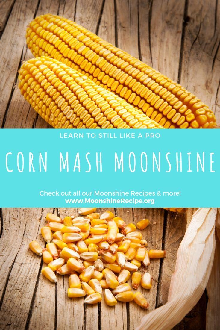 Corn mash moonshine recipe moonshine recipes corn mash